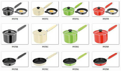 Judge Mini Pans Egg Poacher Blini Frying Pan Or Milk Sauce Pot Different Colours