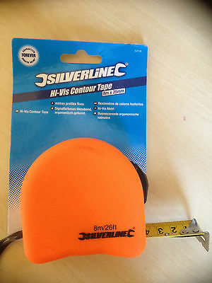 Hi-Vis Metal Tape Measure