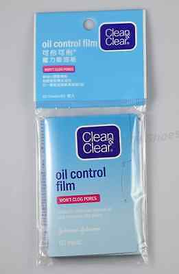 5 x Clean & and Clear Oil Control Film Blotting Paper Face (60 Sheets)