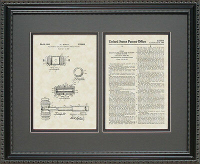 Patent Art- Judge's Gavel - Attorney Paralegal Lawyer Law Legal Print Gift Q5833