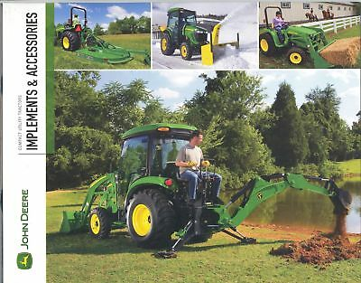 John Deere Implements & Accessories Sales Brochure 2010
