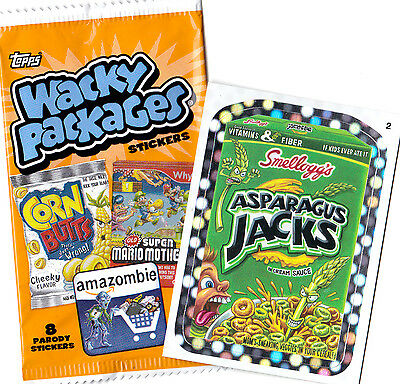 "2012 Wacky Packages ANS 9 ""SILVER BORDER"" Singles ( PICK ANY 1 ) Great Price"