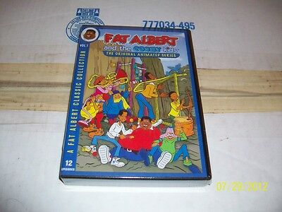 FAT ALBERT & THE COSBY KIDS ORIGINAL ANIMATED SERIES VOL. 1 FACTORY SEALED!!!!!!