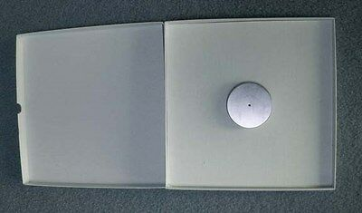 """REEL TO REEL TAPE:Reel Boxes...white boxes for NAB reels 1/4""""x 10 1/2"""" with post"""