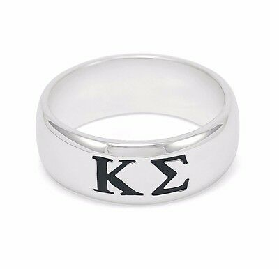 Kappa Sigma sterling silver men's ring