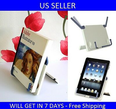 Brand New Actto Reading Desk Book Stand Portable Book Holder Us Seller
