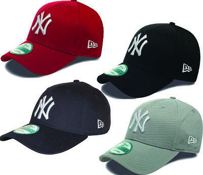 NY Yankees New Era 9Forty League Basic Baseball Cap