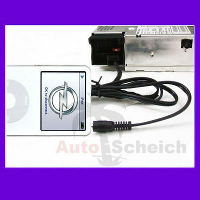 AUX IN Adapter Kabel für Opel CD30 MP3 iPhone Interface Radio CD 30 Audio