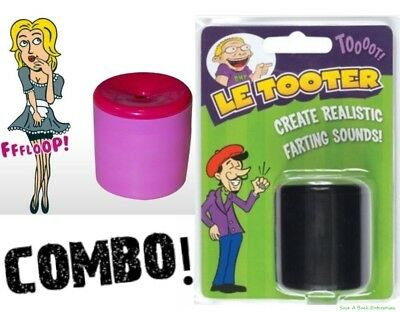 Set of 2 Fart Pooter ( 1 Le Tooter  + 1 Le Queefer ) ~ COMBO!