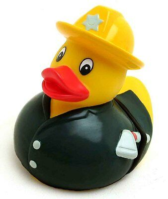 5 St. Feuerwehrmann Badeente, 5 pcs. Firefighter rubber duck special offer