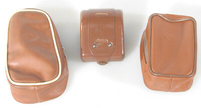 AGFA BROWN CASES FOR FLASH AND ACCESSORIES