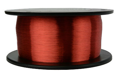 TEMCo Magnet Wire 42 AWG Gauge Enameled Copper 8oz 155C 24420ft Coil Winding