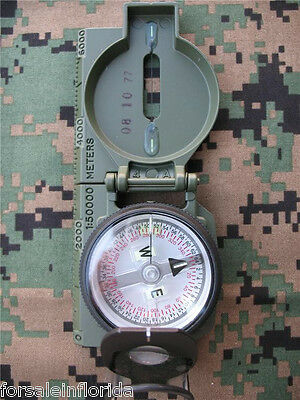 New - Cammenga Southern Hemisphere Military Tritium Lensatic Compass - May 2017