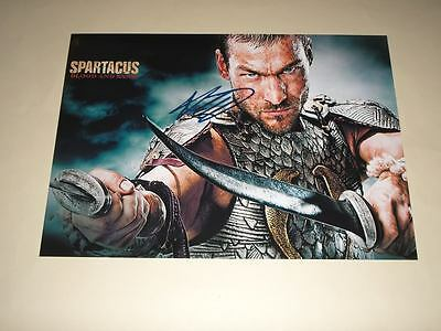 "Spartacus : Blood & Sand Pp Signed 12""x8"" Poster"