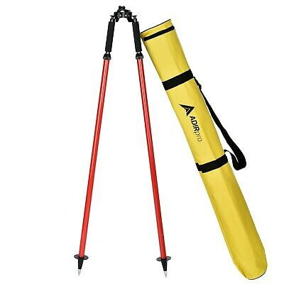 Thumb Release Red Bipod, For Surveying Total Station, GPS,Seco