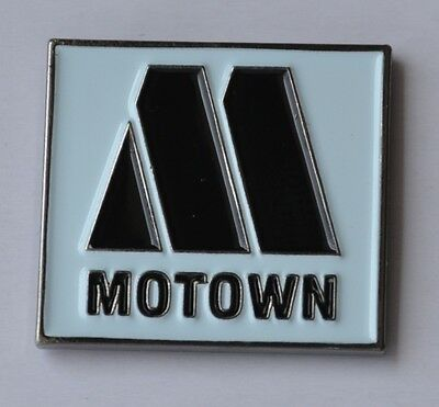 Motown Records Mod/Scooter/Soul Quality Enamel Lapel Pin Badge
