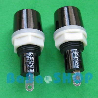 10pcs Ceramics Glass MF528 Fuse Holder Socket 5mm x 20mm