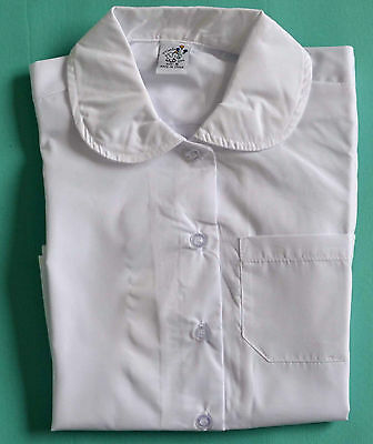 NEW Girl Long School Formal shirt WHITE size 5,6,8,10,12,14,16
