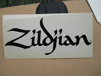 ZILDJIAN CYMBALS DECAL  - new, never sold, never used