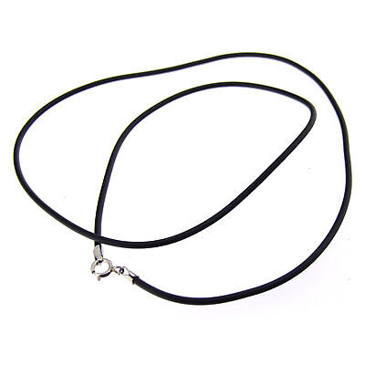 "16""Rope Necklace Sterling Silver Clasp Wholesale 10/Lot"