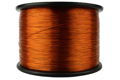 Magnet Wire 24 AWG Gauge Enameled Copper 10lb 7905ft 200C Magnetic Coil Winding