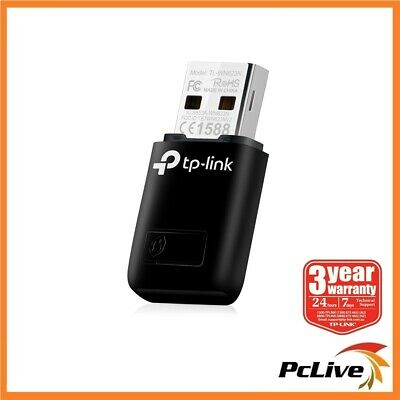 TP-Link TL-WN823N Mini Wireless N 300Mbps USB Adapter HD Video Streaming Gaming
