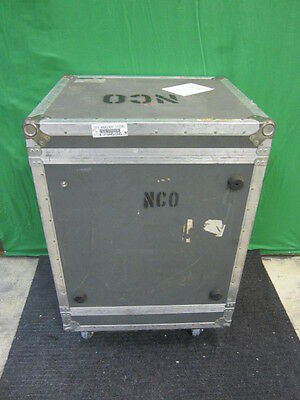 "Large Anvil Shipping Cargo Case with Casters 38"" x 26""x 24"" Used"