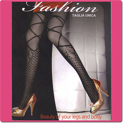 Fishnet Pantyhose Tights with Various Patterns for Clearance