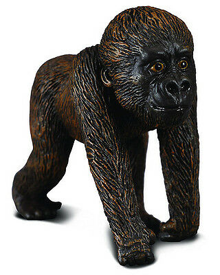 CollectA 88088 Western Gorilla Baby - Realistic Toy Ape Wildlife Replica - NIP