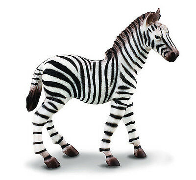 CollectA 88168 African Common Zebra Foal - Wildlife Toy Figurine Replica - NIP