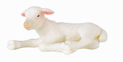 CollectA 88394 Lamb Lying Farm Animal Baby Sheep Toy Figurine Replica NIP