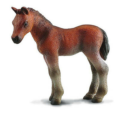 CollectA 88244 Standing BayThoroughbred Foal Toy Model Horse Figurine - NIP