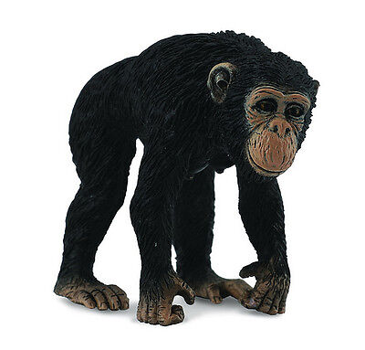 CollectA 88493 Female Chimpanzee - Realistic Ape Animal Figurine Toy Model - NIP