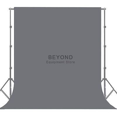 10x12ft Photograpy Solid Gray Muslin Backdrop Photo Studio Screen Background