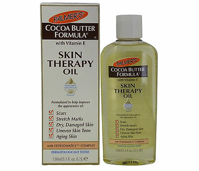 Palmers Cocoa Butter 5.1oz SKIN THERAPY OIL Scars Stretch Marks Skin Tone Aging