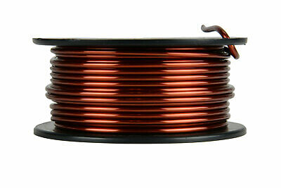 TEMCo Magnet Wire 10 AWG Gauge Enameled Copper 1lb 31ft 200C Coil Winding