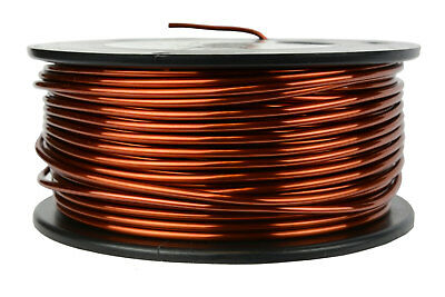Magnet Wire 12 AWG Gauge Enameled Copper 1.5lb 75ft 200C Magnetic Coil Winding