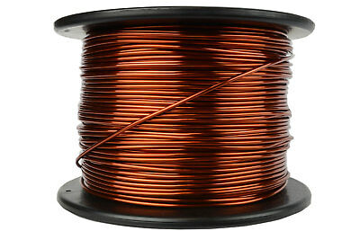 TEMCo Magnet Wire 12 AWG Gauge Enameled Copper 7.5lb 375ft 200C Coil Winding