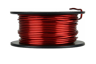 Magnet Wire 12 AWG Gauge Enameled Copper 8oz 155C 25ft Magnetic Coil Winding