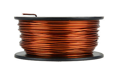TEMCo Magnet Wire 14 AWG Gauge Enameled Copper 1lb 79ft 200C Coil Winding