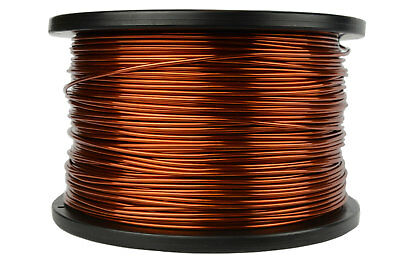 TEMCo Magnet Wire 14 AWG Gauge Enameled Copper 5lb 395ft 200C Coil Winding