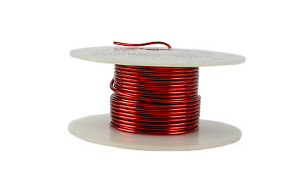Magnet Wire 16 AWG Gauge Enameled Copper 2oz 155C 15ft Magnetic Coil Winding