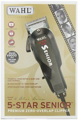 Wahl Five ( 5 ) Star Senior Professional Hair Clipper Barber, Salon Model # 8545