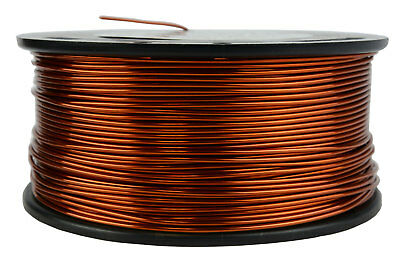 TEMCo Magnet Wire 17 AWG Gauge Enameled Copper 200C 1.5lb 237ft Coil Winding