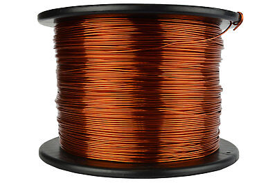 Magnet Wire 17 AWG Gauge Enameled Copper 200C 7.5lb 1185ft Magnetic Coil Winding