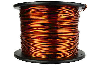 TEMCo Magnet Wire 17 AWG Gauge Enameled Copper 200C 7.5lb 1185ft Coil Winding
