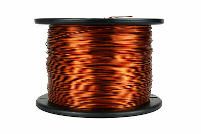 Magnet Wire 18 AWG Gauge Enameled Copper 200C 7.5lb 1492ft Magnetic Coil Winding