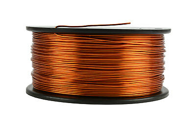 TEMCo Magnet Wire 19 AWG Gauge Enameled Copper 200C 1.5lb 375ft Coil Winding