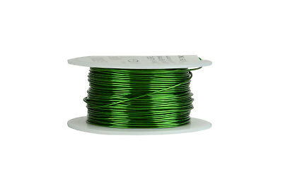 Magnet Wire 20 AWG Gauge Enameled Copper 155C 8oz 157ft Magnetic Coil Green