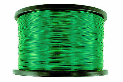 TEMCo Magnet Wire 22 AWG Gauge Enameled Copper 155C 5lb 2505ft Coil Green